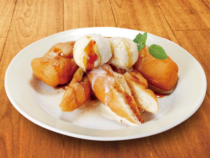 豆乳揚げパンアイスの料理写真