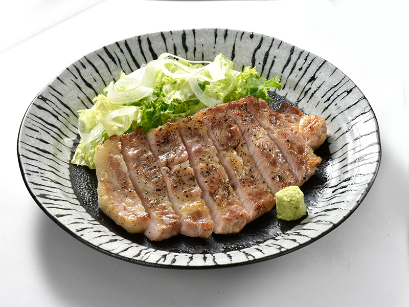 「北海道雪国育ち豚」網焼の料理写真