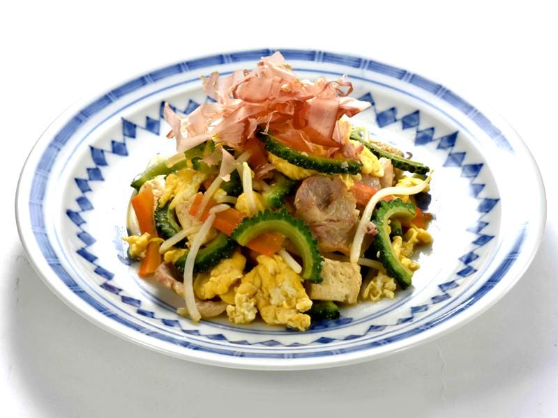 ゴーヤチャンプルの料理写真