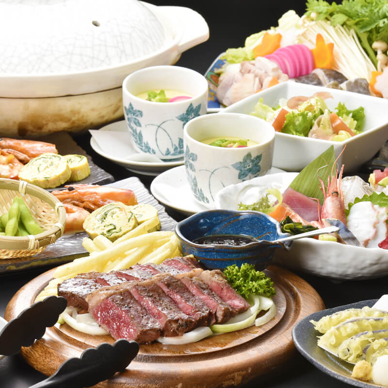 4,000円コースの料理写真