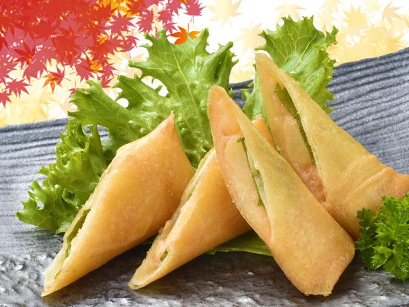 明太ポテトチーズ春巻の料理写真