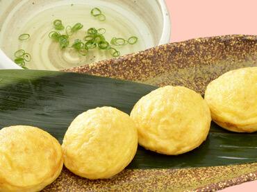 『神戸名物』明石焼の料理写真