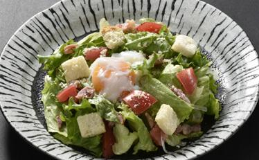 温玉シーザーサラダの料理写真