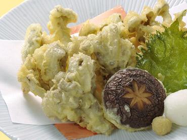 きのこ天ぷらの料理写真